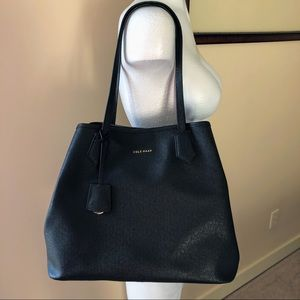 Black Cole Haan Abbot Tote Bag